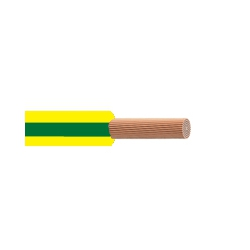 10.0mm Tri-Rated BS6231 Green And Yellow Cable (Cut To Meter Length)