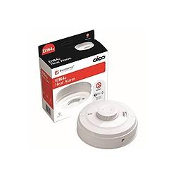 Aico EI164E 240v Heat Alarm with Lithium Backup Battery