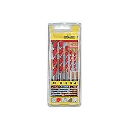 Alpen PM5 100705100 Multicut Drill Set 4, 5, 6, 8 & 10mm In case