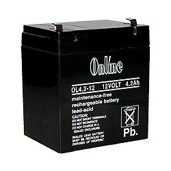 Lynteck LY11-046-23 12volt 4.2aH Lead Acid Rechargeable Battery