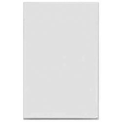 MK K170WHI  LJU6C Datacom 1 module blank white 22mm x 37mm