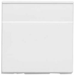 MK K180WHI Logic Plus Euro Data 2 Module Blank 50x50mm White