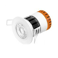 Enlite EN-DE5/30 E5 4.5 Watt 240v 3k Warm White LED Fire Rated Downlight DE5