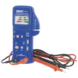 Draper 57574 Battery, Bulb & Fuse continuity tester