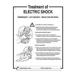 SES WY70WB Treatment Of Electrical Shock Chart