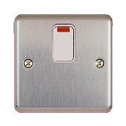 MK K5233MCO 20a DP Switch with Neon Matt Chrome