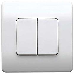 MK K4789WHI Echo Logic Plus flush 2g 1Ch. White Switch Transmitter