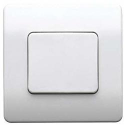 MK K4786WHI Echo Logic Plus flush 1g 1Ch. White Switch Transmitter