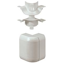 MK VP182WHI Prestige 3D Flexible External Dado Bend White