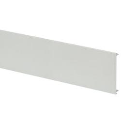 MK VP100WHI Prestige 3D Flat Dado & Skirting Cover White 3m.Length