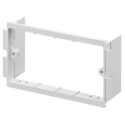 MK VP132WHI Prestige 3D Universal 2 gang accessory Frame 40mm deep