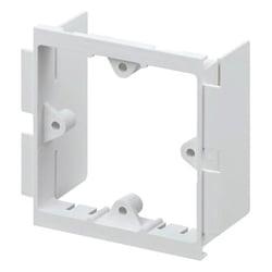 MK VP131WHI Prestige 3D Universal 1 gang accessory Frame 40mm Deep