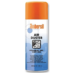 Ambersil 31570 Air Duster Powerful Dry Inert Gas 400ml aerosol