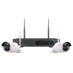 ESP FHDV4KBWF4TB Wire Free CCTV 1080 Full HD Bullet Kit 4TB