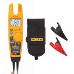 Fluke T6-1000 KIT 1000v AC/DC Electrical Tester  + AC285 Alligator Clips + Holster