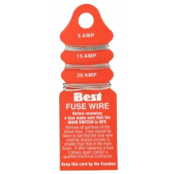 Dencon Card of fusewire 5 ,15 & 30amp