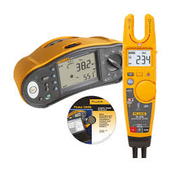 Fluke 1663UK-T6 1663 Multifunction Installation Tester + Free T6-600 600v AC/DC Electrical Tester + Software
