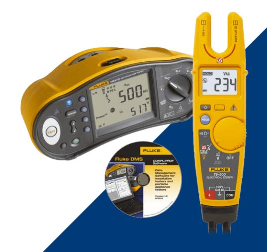 Fluke 1664UK-T6 1664FC Multifunction Installation Tester + Free T6-1000  Meter and Software