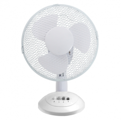 "CED TF12N 12"" 3 Speed Desk Fan"