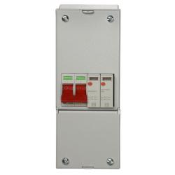 Wylex REC2MSPD 100a Main Switch+Type 2 SPD stand alone unit