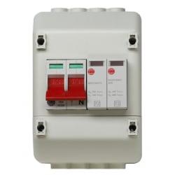Wylex REC2SPD 100a REC c/w Type 2 SPD Insulated