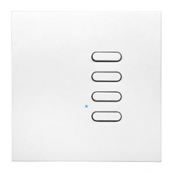 Wise Box WISEINTENSE4WH White Intense 4 Channel Wall Switch TVTXI868BB01MR