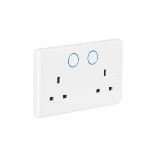 Aurora AU-A1ZBDSS AOne Smart 13a Double Socket