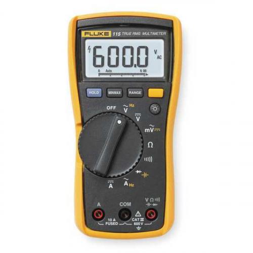 Fluke 115 600v AC/DC True RMS Digital Multimeter