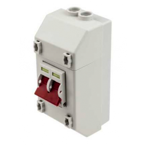 NEW. Wylex DSF60M 60 Amp Double Pole All Metal Switch Fuse Unit