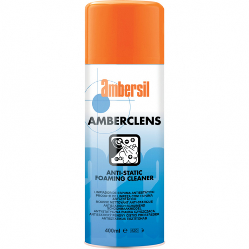 Ambersil 31592 Amberclens Anti-Static Foam Cleaner 400ml aerosol
