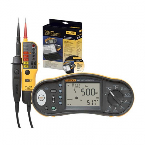 Fluke 1663 UK-TPL KIT Multi Installation Tester + T130 Tester + Software
