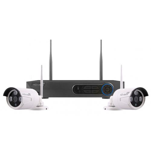 ESP FHDV4KBWF Wire Free CCTV 1080 Full HD Bullet Kit 500GB