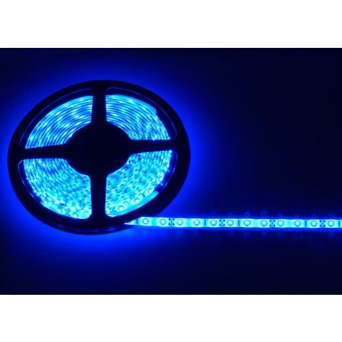 AVSL 153.723UK Blue LED IP65 12vdc Tape Kit 5m+13a Plug in Driver