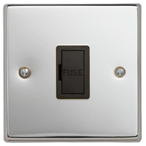 Contactum SIG3364PSB Signature 13a un-switched Spur Polished Chrome