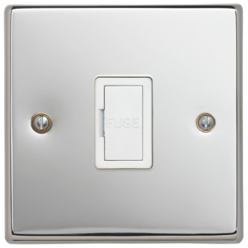 Contactum SIG3364PSW Signature 13a un-switched Spur Polished Chrome