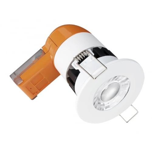 Aurora Enlite EN-DE6PRO/40 LED Dimmable E6 6w 620 Lumens IP65 Fire Rated Downlight 4k Cool White