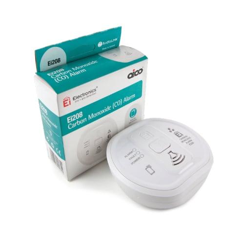 Aico EI208 9v Battery Carbon Monoxide Alarm