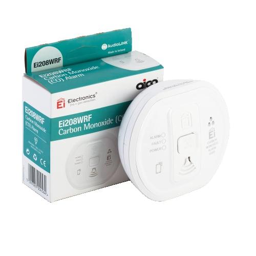 Aico Ei208WRF Radio Link 9v Lithium Battery Carbon Monoxide Alarm