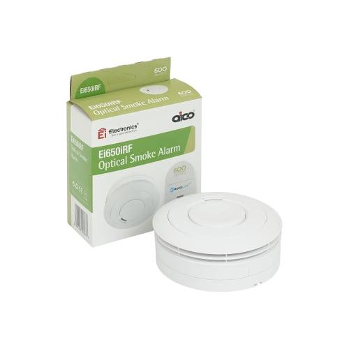 Aico EI650RF RadioLINK Optical Smoke Alarm + 10 Year Lithium Battery