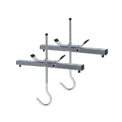 ABRU Werner 45016 Roof Rack Ladder Clamps (Pack of 2) (Locks Extra)