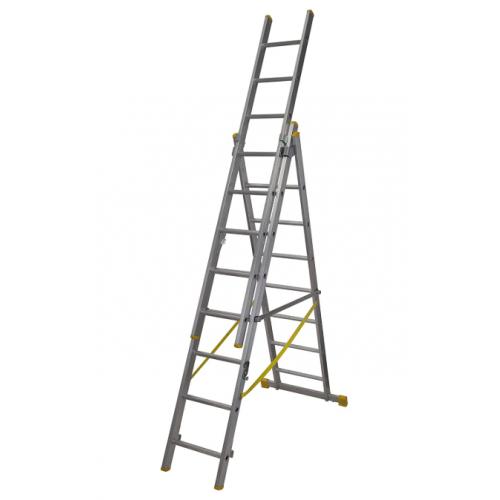 ABRU 72524 Extension PLUSx4 Triple Reform Ladder