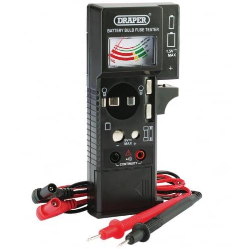 Draper 90478 Battery, Bulb & Fuse continuity tester
