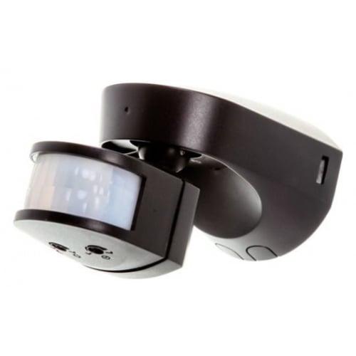 Timeguard SLB2300 Black Wall Mount PIR 180 degree, 2300w or 140w LED 12m Range