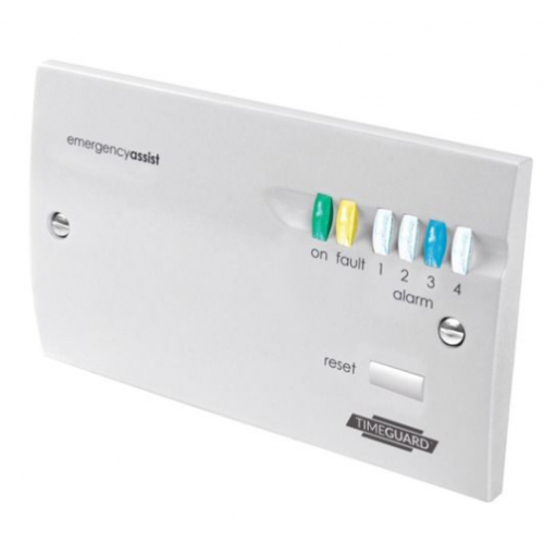 Timeguard EACP4PR Emergency Assist Four Zone Control Panel