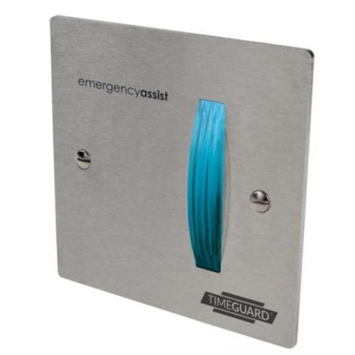 Timeguard EASSDF1 Emergency Assist Stainless Steel Over Door Flasher