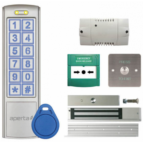 ESP EZTAG3PRO IP65 Keypad And Proximity Reader Door Entry Unit