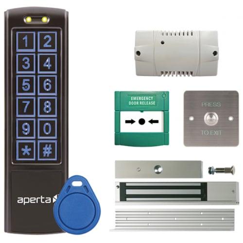 ESP EZTAG3PROB IP65 Keypad And Proximity Reader Door Entry Unit Black