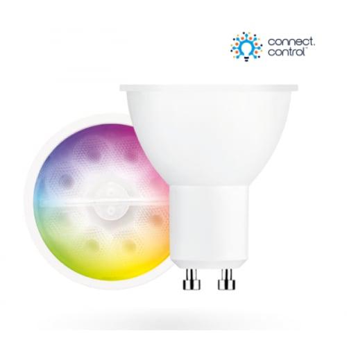 Aurora AU-A1BTGUCWF1 AOne Connect Control Bluetooth 5w GU10 RGBCX Lamp