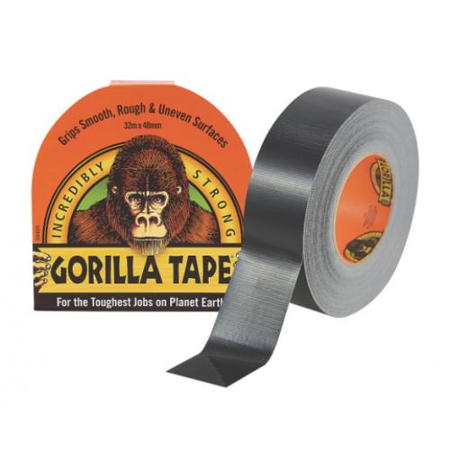 Gorilla tape 48mm x 11 Metres Black