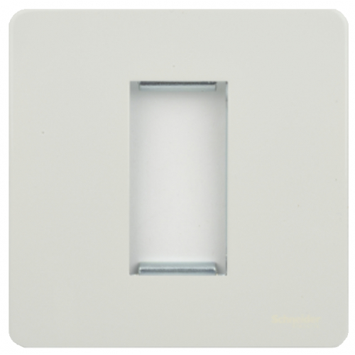 Schneider Get GU8450PW 1 Gang 1 Module Euro Plate White